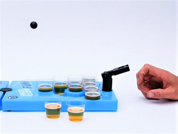 Perfect for tailgating season, this portable beer pong set is over 20% off for members!