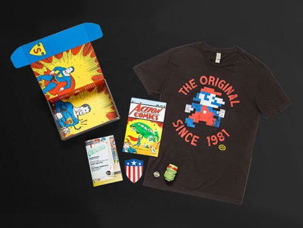 Get 4 hand-picked geeky goodies delivered to your door.