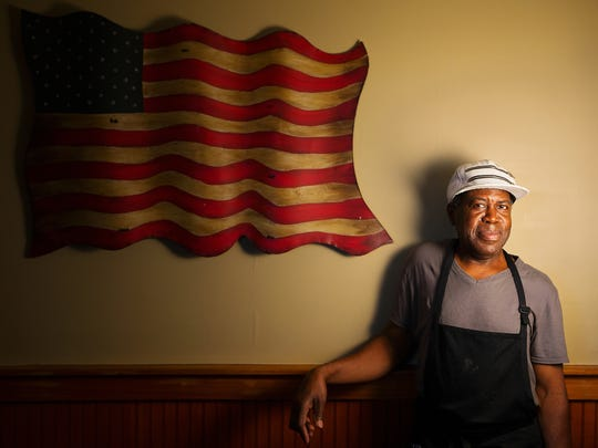 David Thomas has cooked at the Farmers Market Restaurant in Fort Myers since 1981.