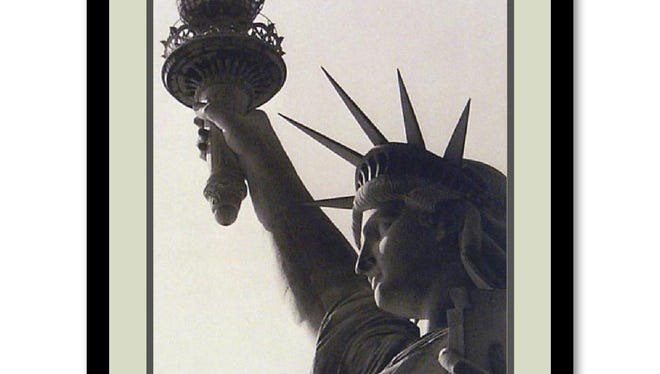 Show your love for the U.S.A. all year. Lady Liberty 21 by 17 inch print, $189.99 online only at kohls.com.