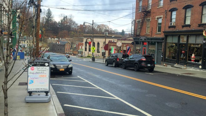 East Main Street in the Village of Wappingers Falls is quiet in the morning on Small Business Saturday, but store owners expected business to pick up as the day went on.
