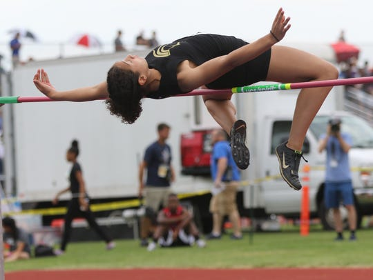 Tiffany Bautista, of Paramus Catholic, won the high