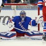 Henrik Lundqvist will have to be sensational for the Rangers to contend with flying Penguins.