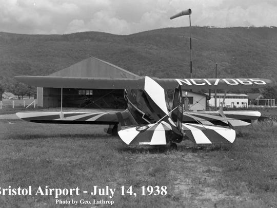 The Bristol Airport on July 14, 1938.