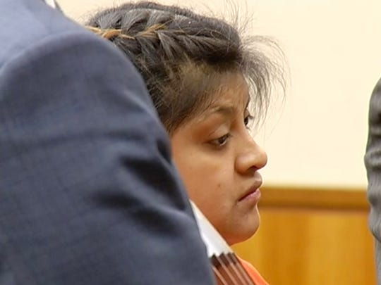 Abigail Hernandez was arraigned on two counts of making