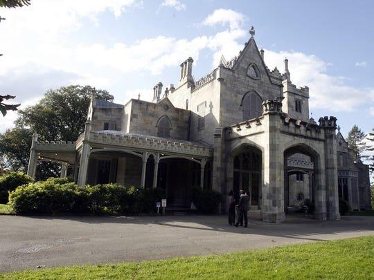 The Lyndhurst mansion in Tarrytown.