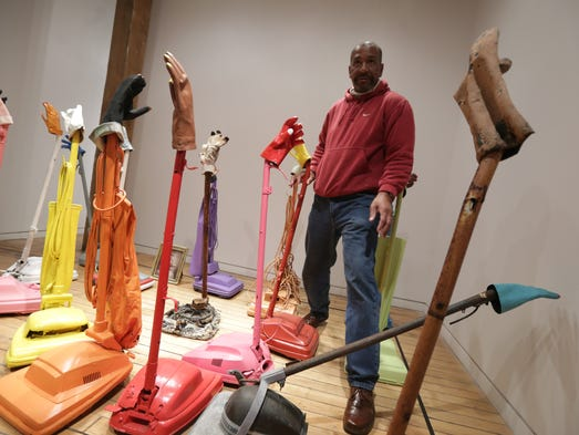 Tyree Guyton's art show, Spirit, opens Friday, Oct.