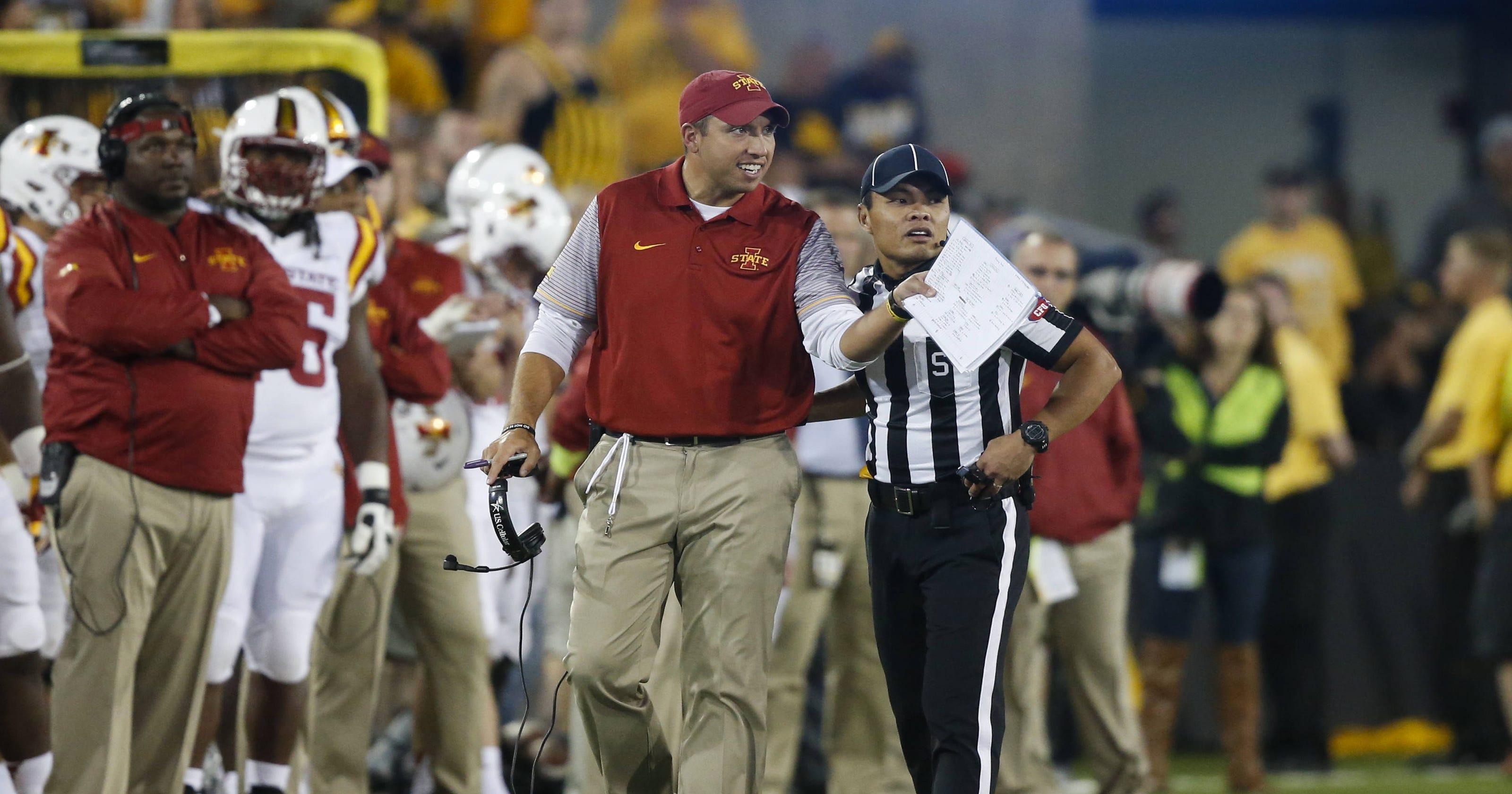 5c3aeb11bfe6 Iowa State tops CBS  weekly worst 25 college football list