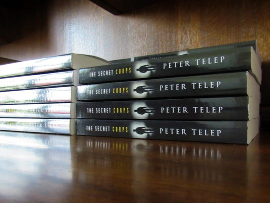 Extra copies of Peter Telep's new independent novel,