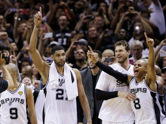 APTOPIX NBA Finals Ba_Beve