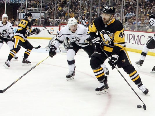 NHL: Los Angeles Kings at Pittsburgh Penguins