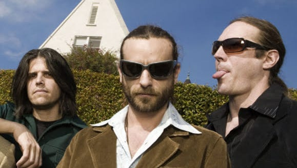 """Tool members, from left, Adam Jones, Justin Chancellor and Danny Carey will present a """"Music Clinic"""" May 15 at Old National Centre."""