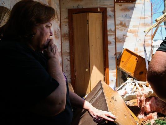Hurricane Harvey ravaged Lamar and Holiday Beach