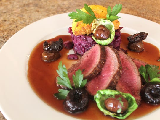 Are you game for a game delicacy? Try the venison at