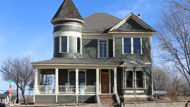 Queen Anne architectural touches are evident on this property on the Prescott Historic Home Tour.