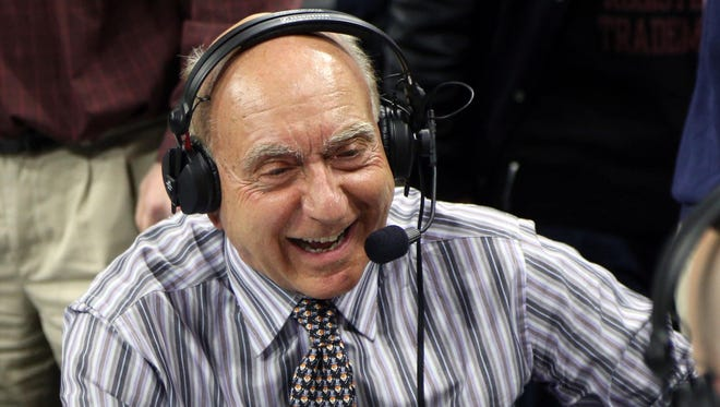 Dick Vitale says he thinks former Indiana coach Tom Crean is 'the perfect guy' to take the Louisville men's basketball coaching job.