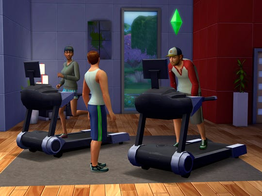 """In """"The Sims 4"""" the Sims are able to multitask and achieve multiple personal aspirations, ranging from finding a soul mate to becoming a best-selling author."""
