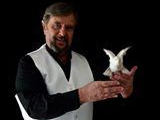 Grebo the Magician performs at 6 p.m. on the young-at-heart