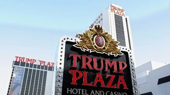 Trump Plaza Hotel and Casino, May 8, 2004, Atlantic City, N.J. Trump's company entered bankruptcy proceedings in August 2004 and he gave up his majority stake.