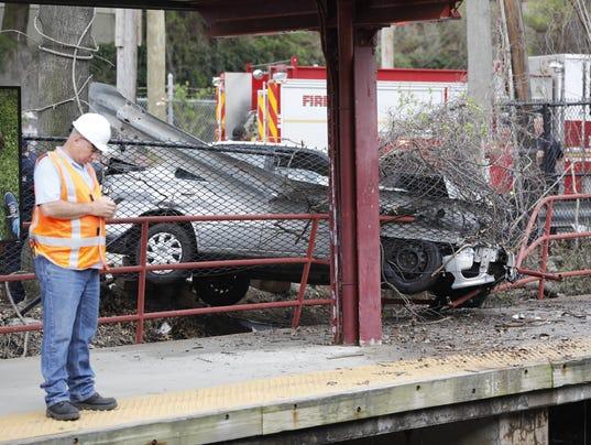 Fleetwood train station accident