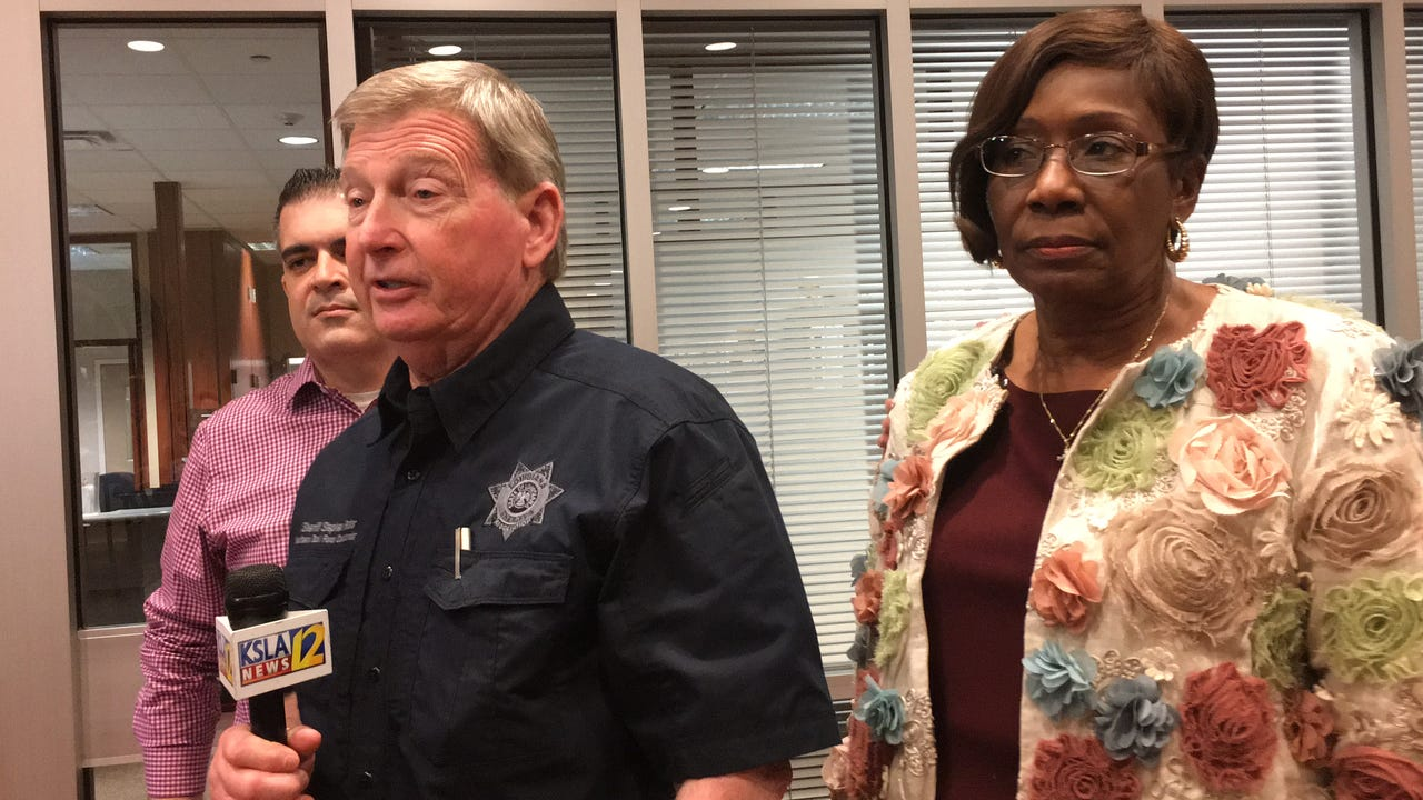 The Shreveport-Bossier City area received a brief respite from rainfall on Friday, but officials warned that severe weather is expected again on Saturday and may result in tornadoes, wind and flooding.