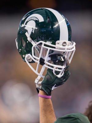 MIchigan State helmet