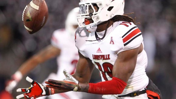 Louisville senior Terell Floyd will start at one safety spot. Who gets the other job? James Sample wants it.