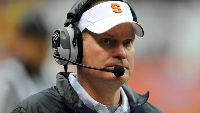 Scott Shafer led the Syracuse University football team to a 7-6 record in his first season as head coach.