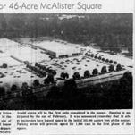 Greenville Roots: Opening of McAlister Square