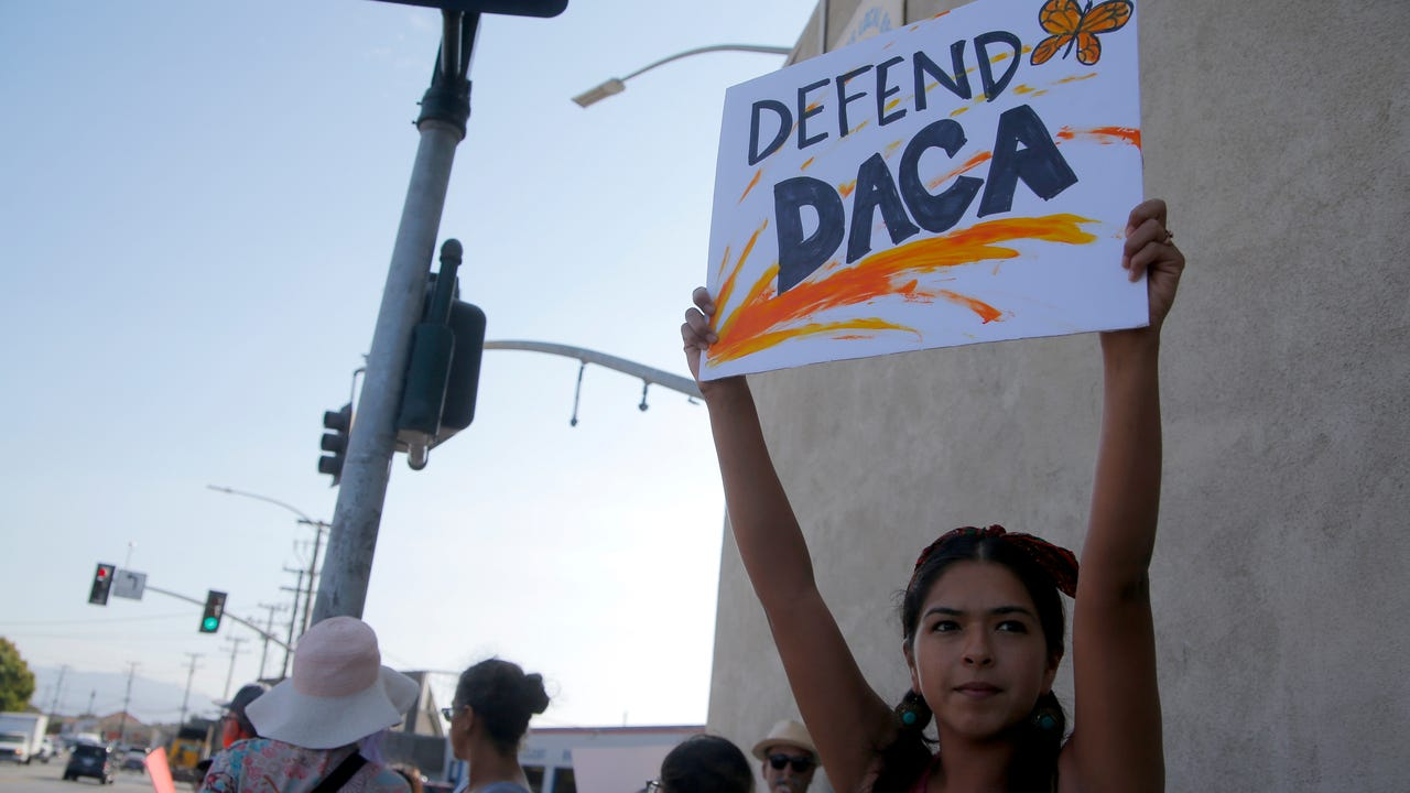 The program, better known as DACA, has helped nearly 800,000 young people remain in this country and receive work permits.