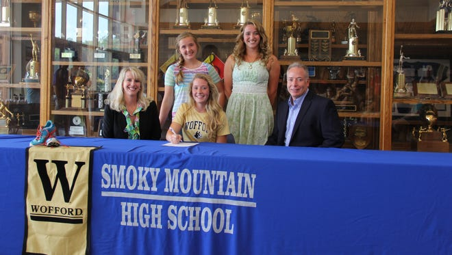 Smoky Mountain senior Sarah Spiro has signed to run college cross country and track for Wofford.