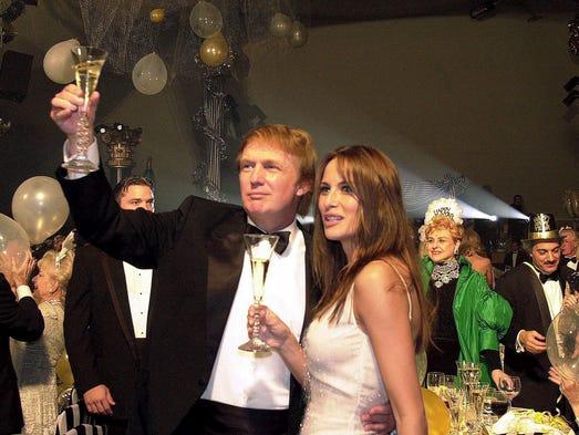 first lady melania trump plays hostess white house soiree