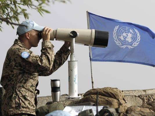Syrian rebels attack peacekeepers in Golan Heights