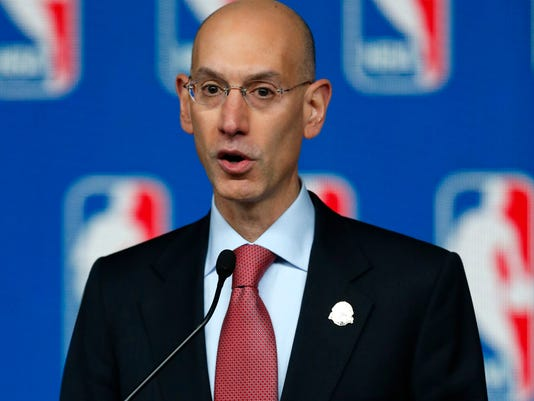 USP NBA_ All Star Game-Commissioner Silver Press C