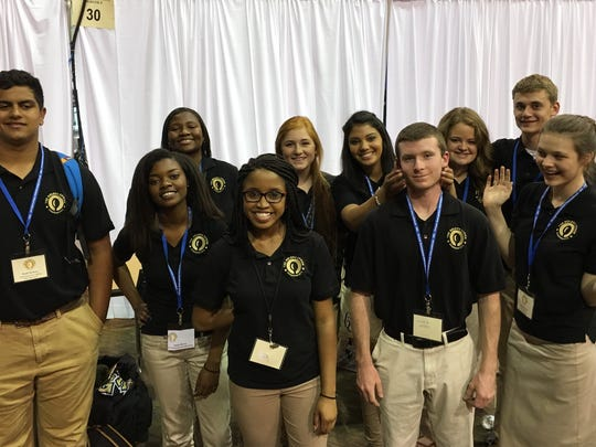 Greer High's Virtual Enterprise team won first place in a state competition and placed among the best in the world last month in New York.
