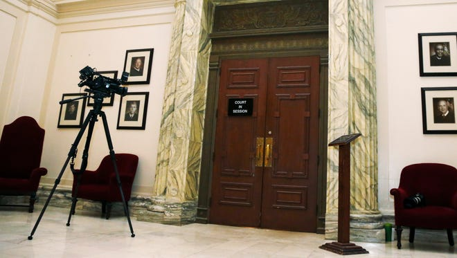 Defense attorneys in Warren County, Ohio, are upset over a live feed of courtroom proceedings that goes directly to Prosecutor David Fornshell's office.
