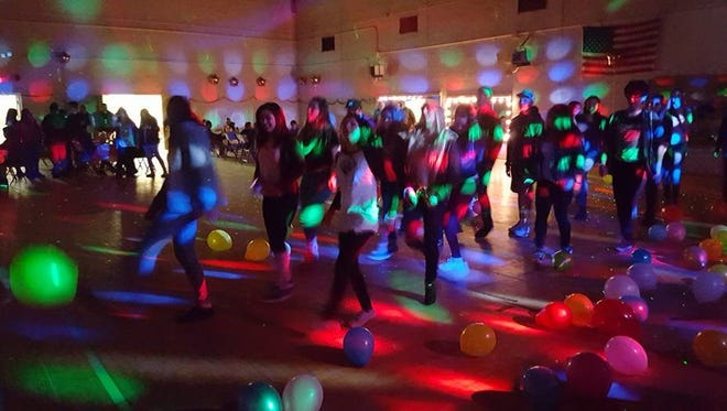 Virgin Valley youth weren't left out on New Year's Eve. They were thrown a party by the Lighthouse Youth Group of Living Waters Fellowship.