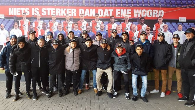 Bajro Dizdarevic and the Cape Under 17 team were invited to train with a professional team in  Holland.