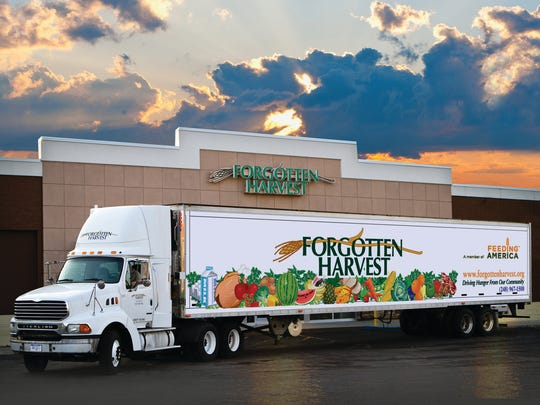 Trucks like these are on the road six days a week, picking up and distributing quality food throughout the 2,000-square-mile tri-county area.