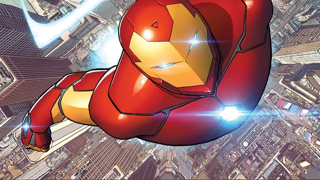 """Invincible Iron Man"" No. 1 debuts in October as part of a line-wide Marvel Comics relaunch."