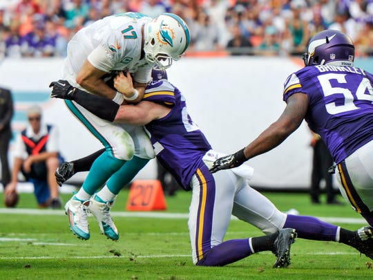 Harrison Smith has proven to be a big play safety.