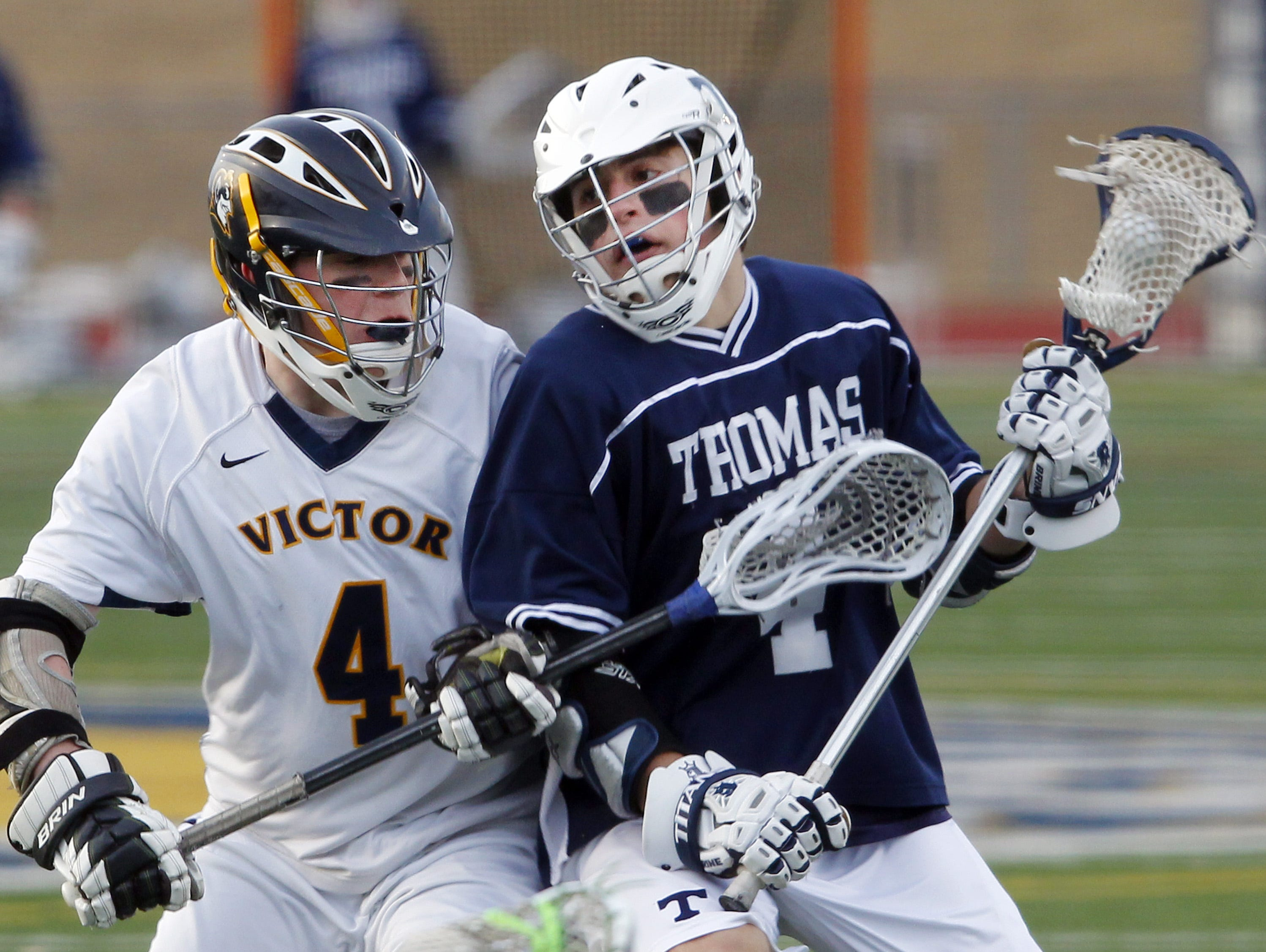 2015 Webster Thomas midfielder Kevin Hill, has committed to play at Penn State.