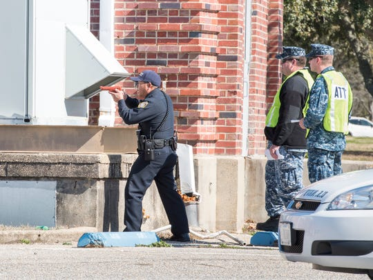 First responders conduct an active shooter and hostage