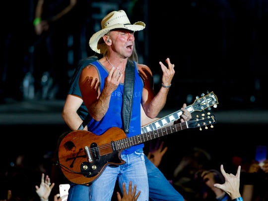 Kenny Chesney performs on June 23, 2018, during a concert