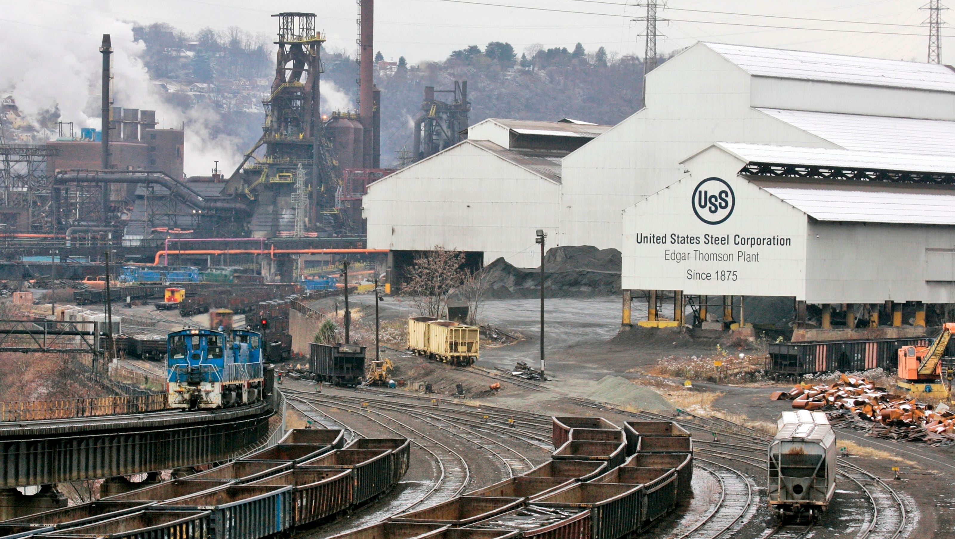 Image result for photos us steel plant