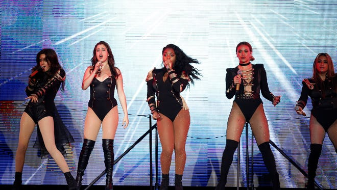Fifth Harmony performs at Klipsch Music Center on Aug. 14, 2016.