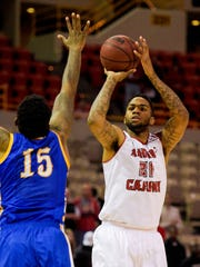 Shawn Long's perimeter game is one of the skills the UL Ragin' Cajun forward figures to bring to the pro game.