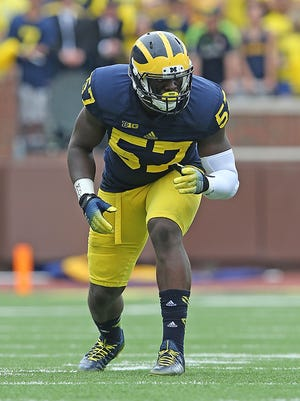 Frank Clark was a four-year contributor to Michigan's team.
