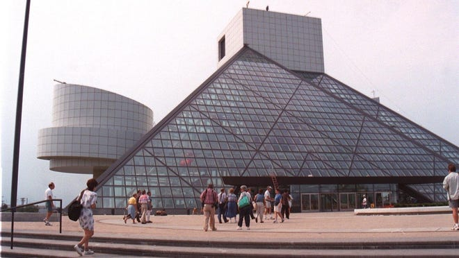 Lunch by the Lake is at noon outside the Rock and Roll Hall of Fame in Cleveland.