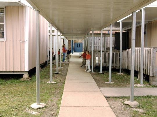 File photo Portable classrooms in Lafayette Parish schools. Portable classrooms in Lafayette Parish schools.